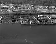 "Ackroyd 17253 ""Schnitzer Industries. Aerial ship dismantling. May 7, 1971"""