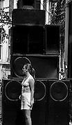 Sound System DJ at Notting Hill Carnival - 1979
