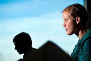 Brussels, Belgium, Jan 30, 2009, Woman at the office, PHOTO © Christophe Vander Eecken