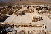 Israel, Negev. Tel Arad Archaeological site and national park
