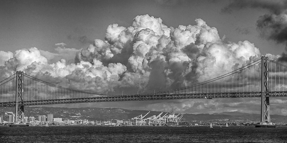 San Francisco Oakland Bay Bridge<br /> <br /> Race 14 and 15<br /> <br /> 2013 America's Cup
