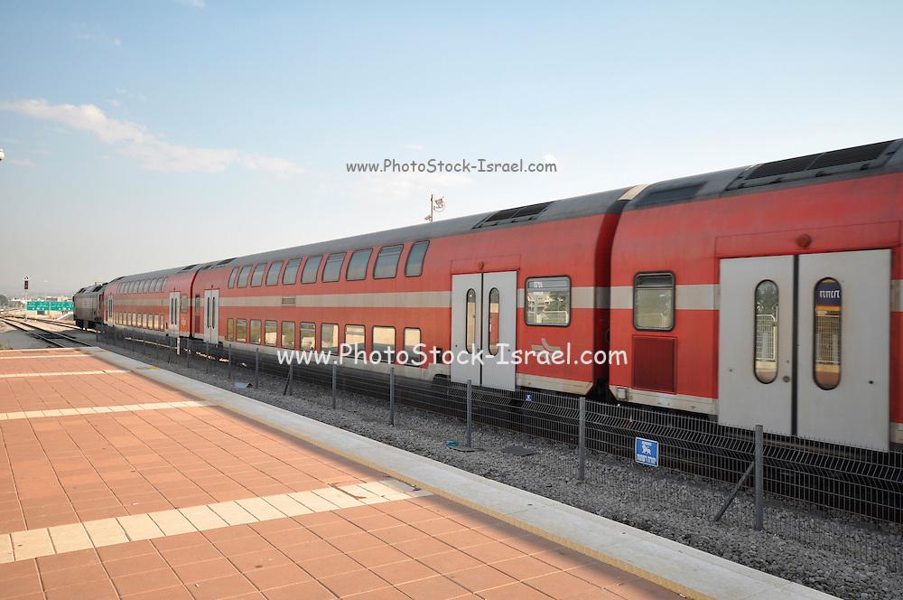 Modern Israeli Train
