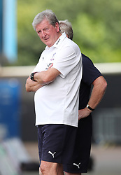 Crystal Palace manager Roy Hodgson on the touchline during a pre season friendly match at The Kassam Stadium, Oxford.