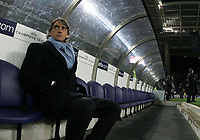 """PORTUGAL - PORTO 23 FEBRUARY 2005: ROBERTO MANCINI, Inter coach First Knock-out Round First Leg of the UEFA Champions League, match FC Porto (#) vs FC Internazionale (#), held in """"Dragao"""" stadium  23/02/2005  19:18:49<br />(PHOTO BY: NUNO ALEGRIA/AFCD)<br /><br />PORTUGAL OUT, PARTNER COUNTRY ONLY, ARCHIVE OUT, EDITORIAL USE ONLY, CREDIT LINE IS MANDATORY AFCD-PHOTO AGENCY 2004 © ALL RIGHTS RESERVED"""