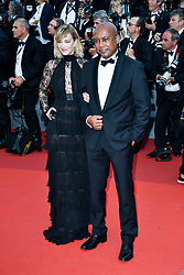 Celine Sallette, Raoul Peck attending the Soiree 70eme Anniversaire during the 70th Cannes Film Festival on May 23, 2017 in Cannes, France. Photo by Julien Zannoni/APS-Medias/ABACAPRESS.COM