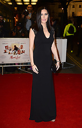 Linzi Stoppard arriving at the UK Premiere of Mum's List, Curzon Cinema, London.<br /> Photo credit should read: Doug Peters/EMPICS Entertainment