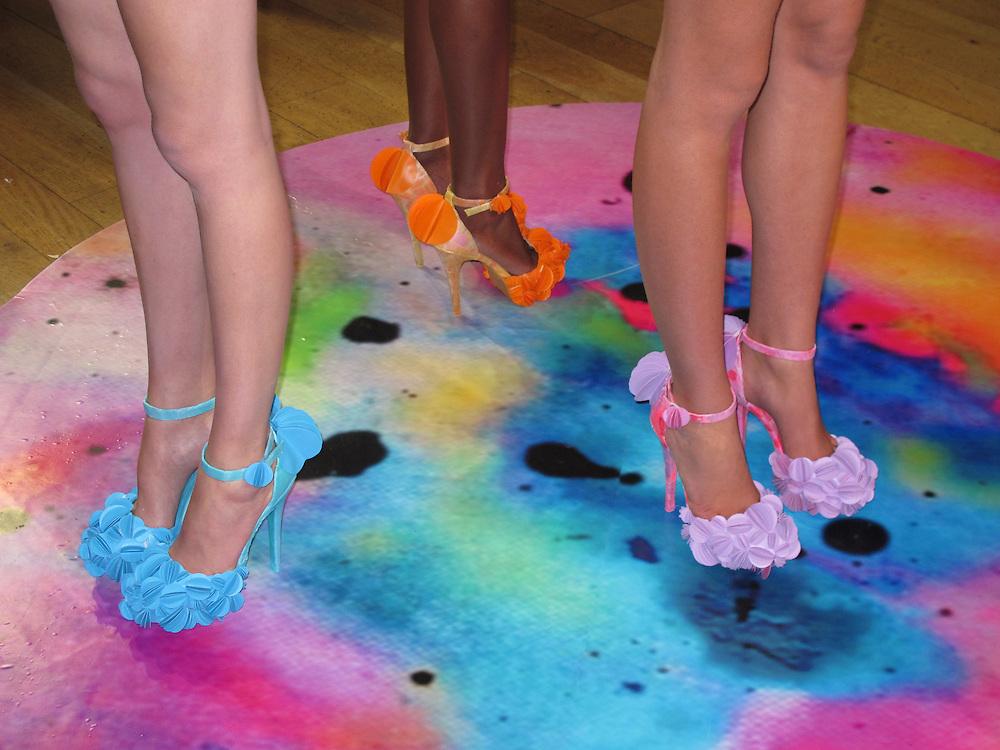 Fred Butler Spring 2012 fashion presentation during London Fashion Week, London, UK. 18/09/2011 Anne-Marie Michel/CatchlightMedia