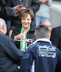 Deli Smith signs autographs  - Photo mandatory by-line: Alex James/JMP - Mobile: 07966 386802 30/08/2014 - SPORT - FOOTBALL - Cardiff - Cardiff City stadium - Cardiff City  v Norwich City - Barclays Premier League