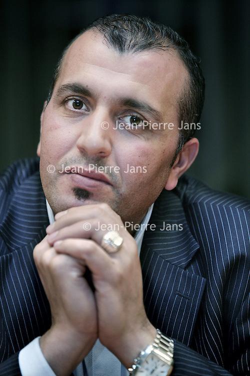 Nederland, Amsterdam , 21 november 2009..Achmed Baâdoud, wethouder Financiën in Osdorp..Foto:Jean-Pierre Jans