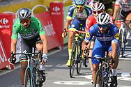 Peter Sagan (SVK - Bora - Hansgrohe) - Fernando Gaviria (COL - QuickStep - Floors) during the Tour de France 2018, Stage 4, Team Time Trial, La Baule - Sarzeau (195 km) on July 10th, 2018 - Photo Kei Tsuji / BettiniPhoto / ProSportsImages / DPPI