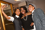 Yara Shahidi, Step Up alum Kalen Israel, and Marcus Scribner take a selfie