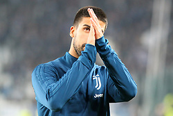 October 25, 2017 - Turin, Italy - Sami Khedira (Juventus FC) before  the Serie A football match between Juventus FC and S.P.A.L. 2013 on 25 October 2017 at Allianz Stadium in Turin, Italy. (Credit Image: © Massimiliano Ferraro/NurPhoto via ZUMA Press)