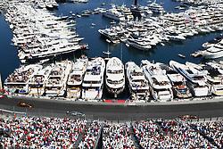 May 28, 2017 - Monte Carlo, Monaco - Motorsports: FIA Formula One World Championship 2017, Grand Prix of Monaco, .#3 Daniel Ricciardo (AUS, Red Bull Racing), #77 Valtteri Bottas (FIN, Mercedes AMG Petronas F1 Team), #33 Max Verstappen (NLD, Red Bull Racing) (Credit Image: © Hoch Zwei via ZUMA Wire)