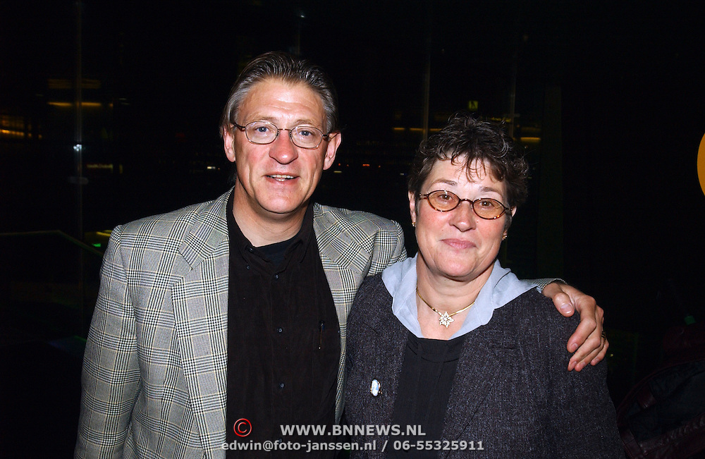 Premiere Red Dragon Amsterdam, Gerrie Knetemann en vrouw Gre Donker