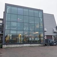 Fasaden og til Schibsted eide mediehuset Fædrelandsvennen i Kristiansand.
