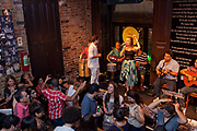 Carioca de Gema, fmous Samba bar in Lapa. Every weekend, thousands of locals and tourists flock to this district, widely regarded as the place for nightlife in the city. Rio de Janeiro.