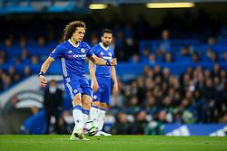 Marcos Alonso of Chelsea free kick - Mandatory by-line: Jason Brown/JMP - 08/05/17 - FOOTBALL - Stamford Bridge - London, England - Chelsea v Middlesbrough - Premier League