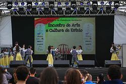 Esteio, 26.08.2019 - Piazitos do Sul durante apresentação na 42a Expointer, realizada no Parque de Exposições Assis Brasil, Rio Grande do Sul.<br /> Foto Gustavo Granata/Agência Preview