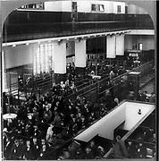 European immigrants on Ellis Island. Immigrants arriving in the United States through Ellis Island, New York. Unknown