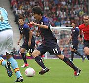 Men's Olympic Football match Spain v Japan on 26.7.12...Kensuke Nagai of Japan, during the Spain v Japan Men's Olympic Football match at Hampden Park, Glasgow...Picture John Millar / ProLens PhotoAgency / PLPA.Thursday 26th July 2012......................