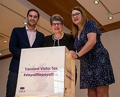 Cosla calls for Tourist Tax, Edinburgh, 27 June 2018