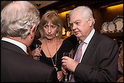 NICK LLOYD; NICOLA GOOCH; NORMAN LAMONT, Ralph Lauren host launch party for Nicky Haslam's book ' A Designer's Life' published by Jacqui Small. Ralph Lauren, 1 Bond St. London. 19 November 2014