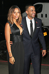© London News Pictures. Rochelle Humes & Marvin Humes, Music Industry Trusts Award, Grosvenor House, London UK, 02 November 2015, Photo by Brett D. Cove /LNP © London News Pictures.