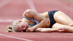31.05.2015, Moeslestadion, Goetzis, AUT, 41. Hypo Meeting 2015, Siebenkampf der Frauen, 800 m, im Bild Verena Preiner (AUT) // Verena Preiner of Austria during the 41. Hypo Meeting Goetzis 2015, Women' s Heptathlon, 800 meters, at the Moeslestadion, Goetzis, Austria on 2015/05/31. EXPA Pictures © 2015, PhotoCredit: EXPA/ Peter Rinderer