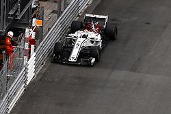 May 24, 2018 - Montecarlo, Monaco - 09 Marcus Ericsson from Sweden Alfa Romeo Sauber F1 Team C37 during the Monaco Formula One Grand Prix  at Monaco on 24th of May, 2018 in Montecarlo, Monaco. (Credit Image: © Xavier Bonilla/NurPhoto via ZUMA Press)