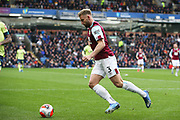 Burnley defender Charlie Taylor (3) during the Premier League match between Burnley and Bournemouth at Turf Moor, Burnley, England on 22 February 2020.