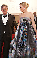 Director Todd Haynes and Actress Cate Blanchett  at the gala screening for the film Carol at the 68th Cannes Film Festival, Sunday May 17th 2015, Cannes, France.
