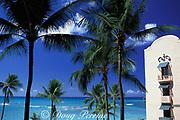 Royal Hawaiian Hotel, <br /> Waikiki Beach,<br /> Oahu, Hawaii, USA ( Pacific )
