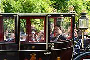 Prinsjesdag 2014 - Balkonscene op Paleis Noordeinde  /// Parlementday 2014 - Balcony Scene at Palace Noordeinde<br /> <br /> Op de foto: Prins Constantijn  /  Prince Constantijn