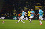 Burton Albion defender Tom Flanagan (2) during the The FA Cup 3rd round match between Watford and Burton Albion at Vicarage Road, Watford, England on 7 January 2017. Photo by Richard Holmes.