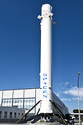 Falcon 9 Booster Rocket at Space Exploration Technologies Corp.