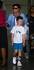 Excl: Coleen Rooney & Kids arrive in Barbados - 27 May 2017
