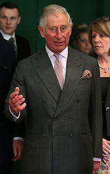 Prince Charles (known as The Duke of Rothesay when in Scotland) during a surprise appearance at the Dumfries House Tea Dance at Dumfries House in Cumnock.