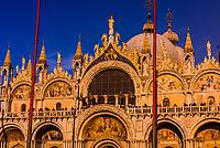 Basilica San Marco, Piazza San Marco, Venice, Italy.