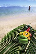 Tropical fruit, Rarotonga, Cook Islands<br />