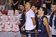 DESCRIZIONE : Roma LNP A2 2015-16 Acea Virtus Roma Assigeco Casalpusterlengo<br /> GIOCATORE : Daniele Sandri<br /> CATEGORIA : pre game inno<br /> SQUADRA : Assigeco Casalpusterlengo<br /> EVENTO : Campionato LNP A2 2015-2016<br /> GARA : Acea Virtus Roma Assigeco Casalpusterlengo<br /> DATA : 01/11/2015<br /> SPORT : Pallacanestro <br /> AUTORE : Agenzia Ciamillo-Castoria/G.Masi<br /> Galleria : LNP A2 2015-2016<br /> Fotonotizia : Roma LNP A2 2015-16 Acea Virtus Roma Assigeco Casalpusterlengo