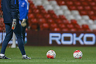 during the FA Youth Cup match between U18 Nottingham Forest and U18 Brighton at the City Ground, Nottingham, England on 10 December 2015. Photo by Simon Davies.