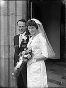 Minogue- Bergin Wedding, St. Finnian's Church, Hollybrook Hotel, Clontarf<br /> 24.06.1961