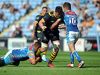 Rugby Union - 2020 / 2021 Gallagher Premiership - Round 22 - Wasps vs Leicester Tigers - Ricoh Stadium<br /> <br /> Will Rowlands of Wasps playing his last game for the club<br /> <br /> Credit : COLORSPORT/Andrew Cowie