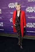 Premiere van The Color Purple in het NDSM theater, Amsterdam<br /> <br /> op de foto:  Vera Mann