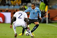 FOOTBALL - FIFA WORLD CUP 2010 - GROUP STAGE - GROUP A - URUGUAY v FRANCE - 11/06/2010 - PHOTO GUY JEFFROY / DPPI - ALVARO PEREIRA (URU)