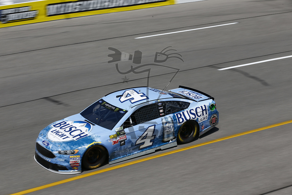 April 28, 2017 - Richmond, Virginia, USA: Kevin Harvick (4) takes to the track to practice for the Toyota Owners 400 at Richmond International Speedway in Richmond, Virginia.