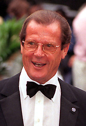 File photo dated 14/07/98 of Sir Roger Moore, who has died in Switzerland after a short battle with cancer, his family has announced.