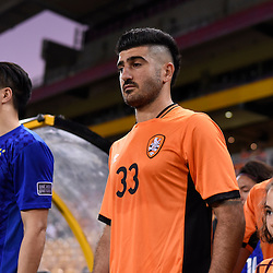 BRISBANE, AUSTRALIA - JANUARY 31: Joey Katebian of the Roar walks out during the second qualifying round of the Asian Champions League match between the Brisbane Roar and Global FC at Suncorp Stadium on January 31, 2017 in Brisbane, Australia. (Photo by Patrick Kearney/Brisbane Roar)