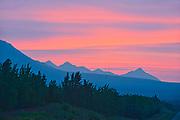 Kluane Ranges, the easternmost of the St Elias Mountains. <br /> Kluane National Park<br /> Yukon<br /> Canada<br />Kluane National Park<br />Yukon<br />Canada