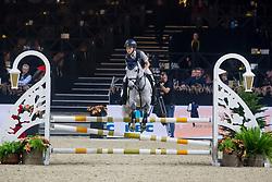 De Clerq Jens, BEL, Skywalker vh Klavertje<br /> Jumping Mechelen 2019<br /> © Hippo Foto - Sharon Vandeput<br /> 26/12/19